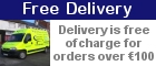 Free Delivery! Delivery free of charge for orders over €100