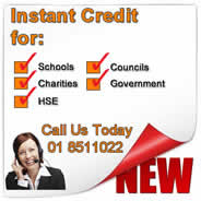 Instant Credit Account Setup