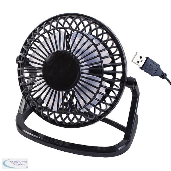 4 Inch Desk Fan : Inch usb black desk fan pack of  abbey