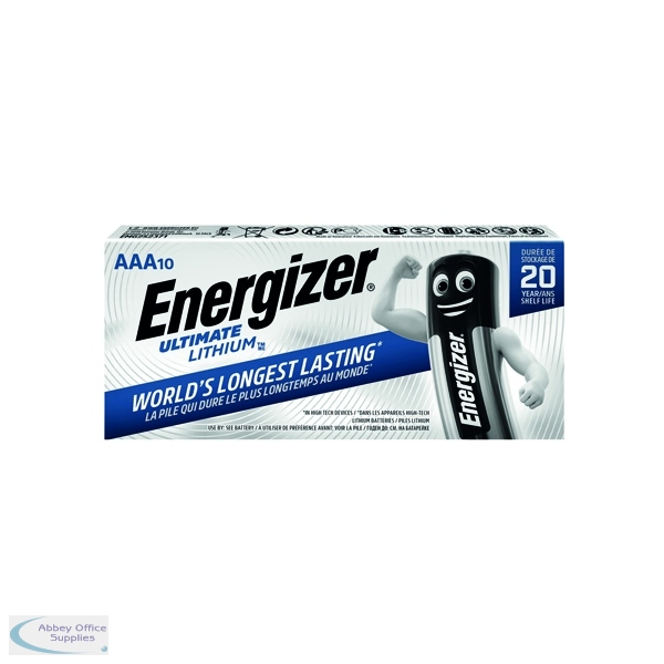 energizer aaa ultimate lithium batteries 10 pack 634353. Black Bedroom Furniture Sets. Home Design Ideas
