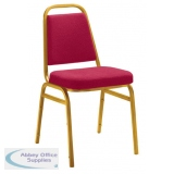 Abbey Banquet Gold Frame Chair