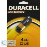 DURACELL Flash Drive USB Memory Stick 4GB