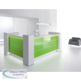 AOS Valde High Gloss Reception Desks