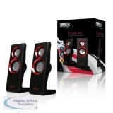 Sweex 2.0 Speaker Set Purephonic 20W Red