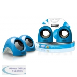 Sweex Laptop USB Speaker Blue Lagoon