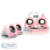 Sweex Laptop USB Speaker Baby Pink