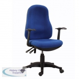 AOFSE-TY2BLU - Abbey TY2 Twin Lever Home and Office Operator Chair Blue