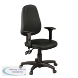 O.A Task Vinyl Operato Seating - With Ajustable Arms