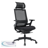 Abbey TENMC 24 Hour High Back Ergonomic Mesh Chair with Headrest