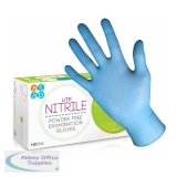 ASAP Lite Nitrile Powder-Free Examination Gloves - Pack of 100