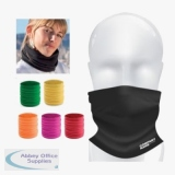 Mouth Protection Mask and Neck Warmer, Assorted Colours
