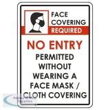 "AOS-CVP100A4 - Covid-19 Poster ""Face Covering Required"" A4"