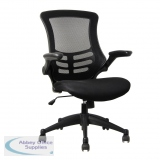 Abbey MESH-OP High Back Mesh Operator Chair in Black