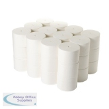 2Work Micro Twin Coreless Toilet Rolls 800 Sheets (36 Pack) TWH900