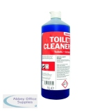 2Work Daily Use Toilet Cleaner 1 Litre (12 Pack) 2W04577