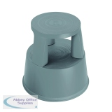 2Work Plastic Step Stool Dark Grey  T7/Dgrey