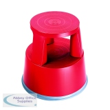 2Work Plastic Step Stool Red T7/Red
