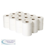 2Work Micro Twin 2-Ply Toilet Roll 125m (24 Pack) 2W06439