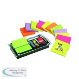 Post-it Designer Z-notes With Dispenser (12 Pack) DS100-VP
