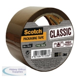 Scotch Classic 50mmx50m Brown Packaging Tape CL.5050.S.B