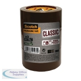 Scotch Classic 50mmx50m Brown Packaging Tape CL.5050.T3.B