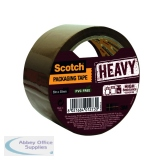 Scotch Heavy Duty 50mmx50m Brown Packaging Tape HV.5050.S.B
