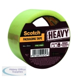 Scotch Packaging Tape Heavy 50mmx50m Clear HV.5050.S.B