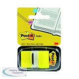 Post-it Yellow Index Tabs 25mm (Pack 12x50) 680-5