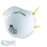 3M FFP1 Unvalved Disposable Cup Respirator (10 Pack) 8310