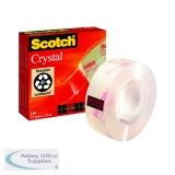 Scotch Crystal Clear Tape 19mm x 33m 600