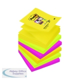 Post-it Super Sticky Z-Notes 76 x 76mm Rio (6 Pack) R330-6SS-RIO-EU