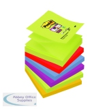 Post-it Super Sticky Z-Notes 76 x 76mm Marrakesh (6 Pack) R330-6SS-MAR-EU