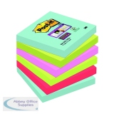 Post-it Super Sticky Notes Miami 76x76mm 654-6SS-MIA