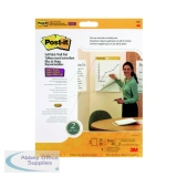 Post-it Super Sticky Table Top Meeting Chart Refill Pad (2 Pack) 566