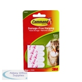 3M Command Adhesive Poster Strips (72 Pack) 17024
