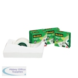 Scotch Magic Tape 810 x 4 + FOC Dispenser (4 Pack) SM4-W-EU