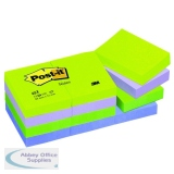 Post-it Notes 38 x 51mm Dream Colours (12 Pack) 653MT