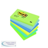 Post-it Notes 76 x 127mm Dream Colours (6 Pack) 655MT