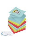 Post-it Super Sticky Z-Notes 76 x 76mm Miami (6 Pack) R330-6SS-MIA