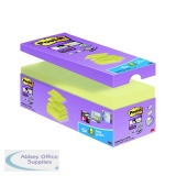 Post-it Notes Super Sticky 76 x 76mm Z-Notes Canary Yellow (20 Pack) R330-SSCY-VP20