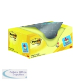 Post-it Notes 38 x 51mm Canary Yellow Value Pack (20 Pack) 653CY-VP20