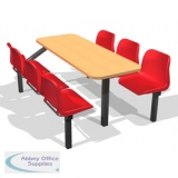 Fast Food Economy Seating