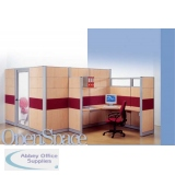 Abbey Open Space Office Partitioning System