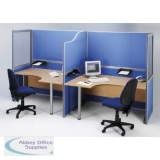 Abbey Solo Free-standing Office Screens