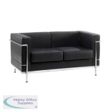 Abbey Cube Black 2 Seater