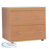 2 Drawer Extended Filing Cabinet