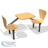 Fast Food Seating 2 Seater Keeler