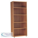 Medici Tall Storage Unit Open - Bookcase with 3 Shelves 1 Fixed