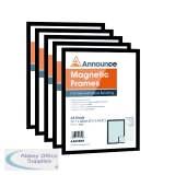 Announce Magnetic Frame A3 Black (5 Pack) AA01850