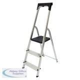 Werner Promaster 3 Tread Step Ladder 7410318